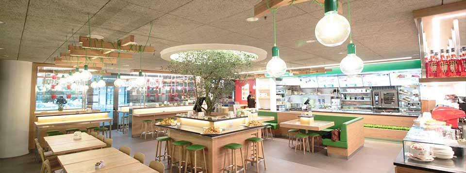 Arredamento locali ristorante progettazione ed for Pizzeria arredamento