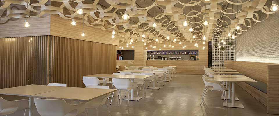 arredamento ristorante moderno progettazione esecuzione