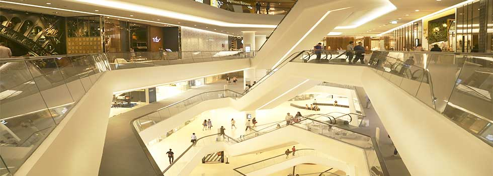 Arredamento Negozi Retail Franchising centri commerciali