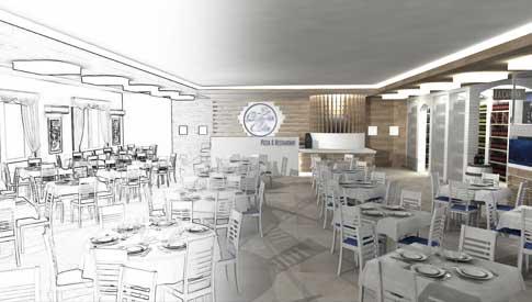 Progettazione arredamenti locali negozi hotel interior design