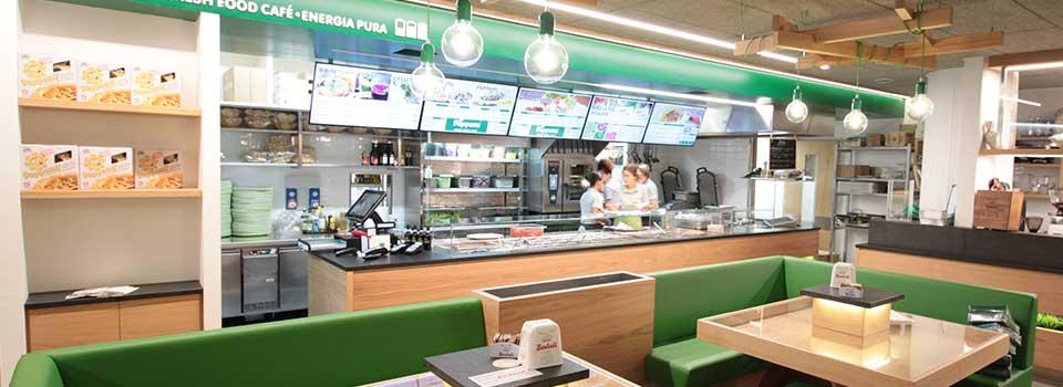 Arredamento self service free flow progettazione for Arredamento per fast food