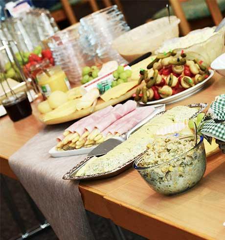 arredamento mensa buffet